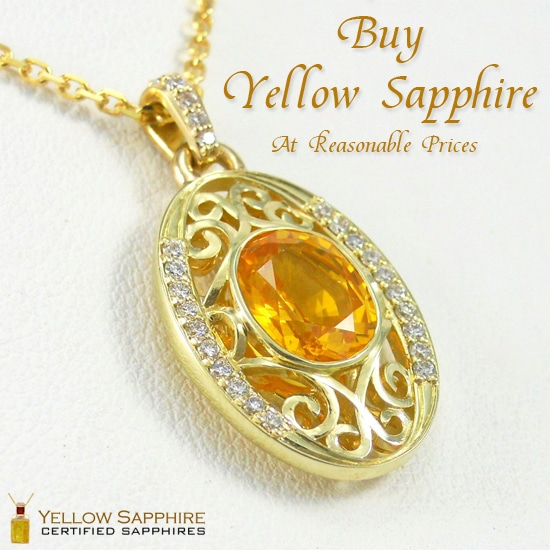 yellow stone pendant