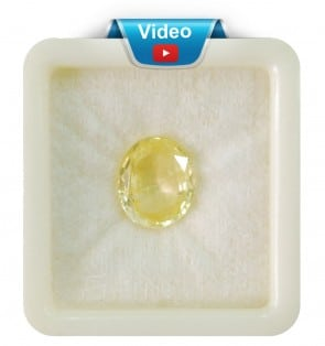 Yellow Sapphire Super Premium Grade