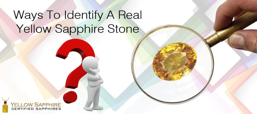 Ways To Identify A Real Yellow Sapphire Stone