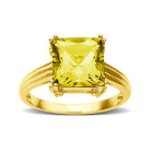 Believe It Or Not Yellow Sapphire Gemstone Carries Good Luck & Fortune!!