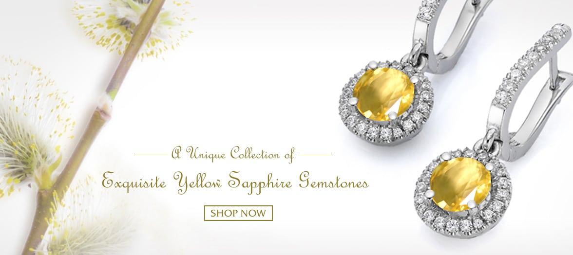 yellow saaphire gemstone