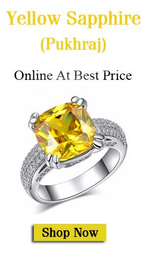 Benefits Yellow Sapphire Pukhraj For Women