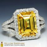 How To Buy Regal Yellow Sapphire Engagement Rings?