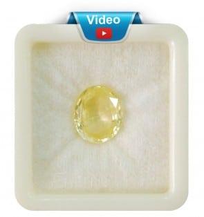 Ceylon Astrological Pushparaag-Sapphire 6.15CT (10.25 Ratti)