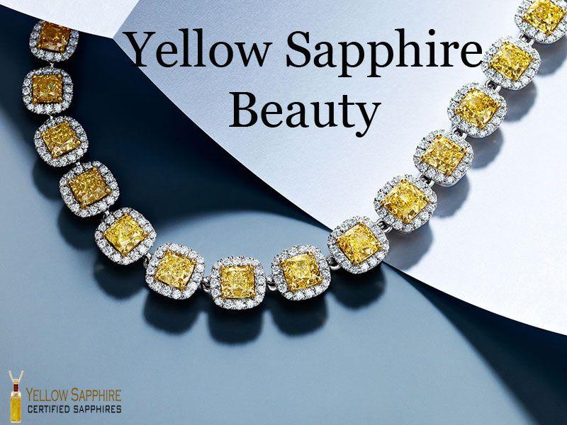 Yellow Sapphire Beauty