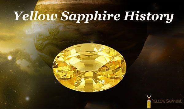 Yellow Sapphire History