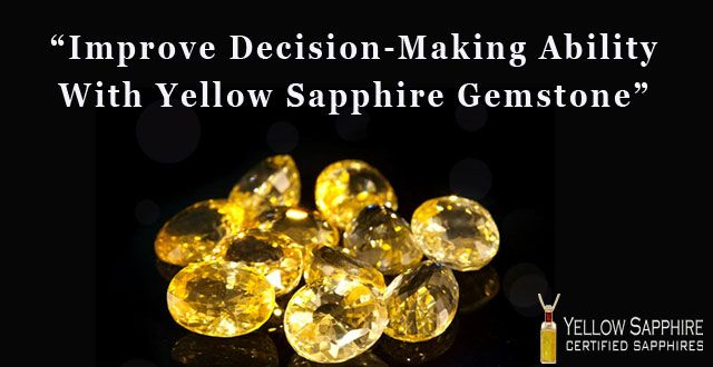 5 Ways In Which Yellow Sapphire Gemstone Influences a Person