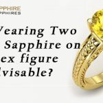 What is the effect of Wearing Two Yellow Sapphire Gemstones?
