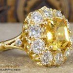 Difference Between Citrine (Sunela), Yellow Topaz & Yellow Sapphire (Pukhraj)