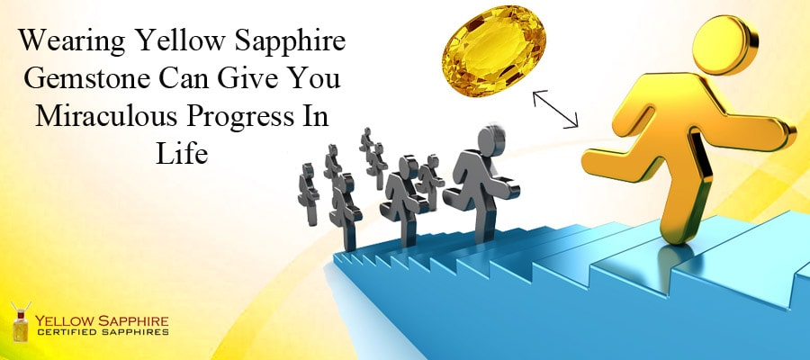 Wearing Yellow Sapphire Gemstone Can Give You Miraculous Progress In Life